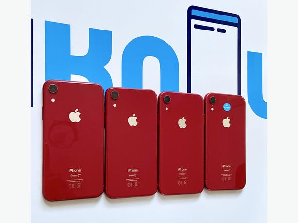 iPhone XR 64Gb unlocked to all networks Red unboxed £339.99 Each