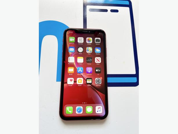 iPhone XR 64GB unlocked to all networks Red NO Face ID