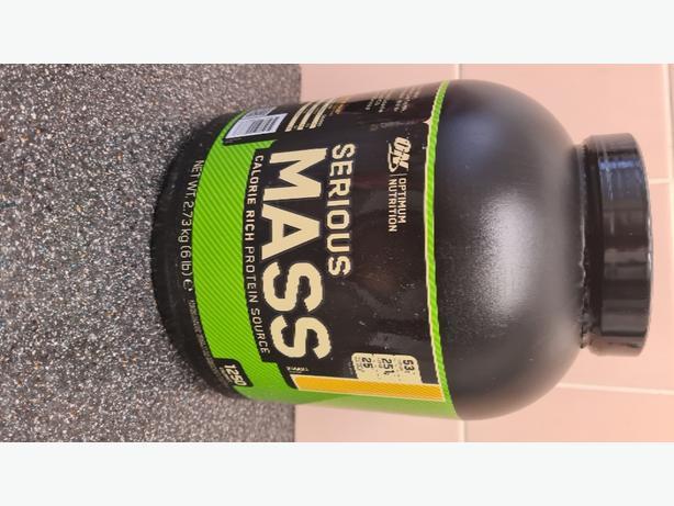 serious mass protein shake
