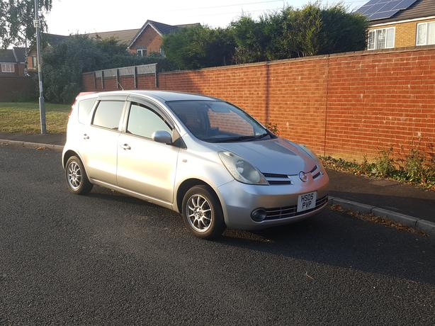 Automatic Nissan Note 1,5, 5 door long mot,good condition, drivers very good