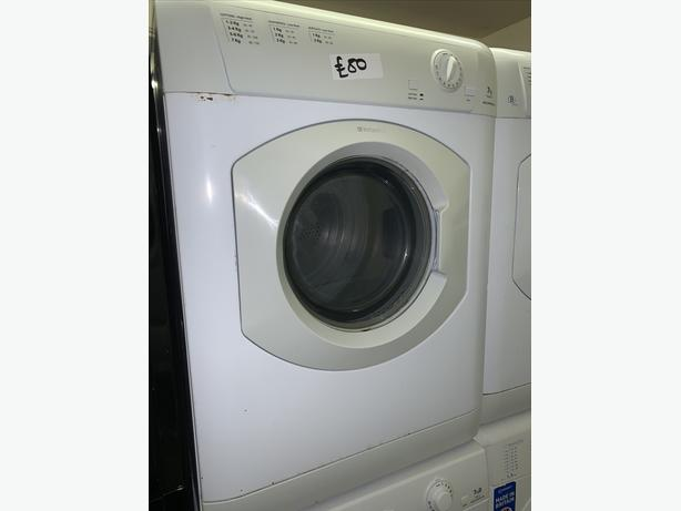 PLANET APPLIANCE - 7KG HOTPOINT WHITE CONDENSER DRYER