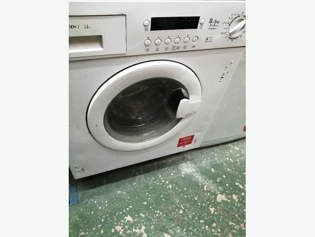 Hoover integrated washer dryer 8+5 kg  with warranty at Recyk Appliances