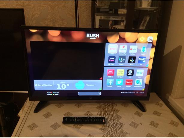 32 INCH BUSH SMART WIFI TV
