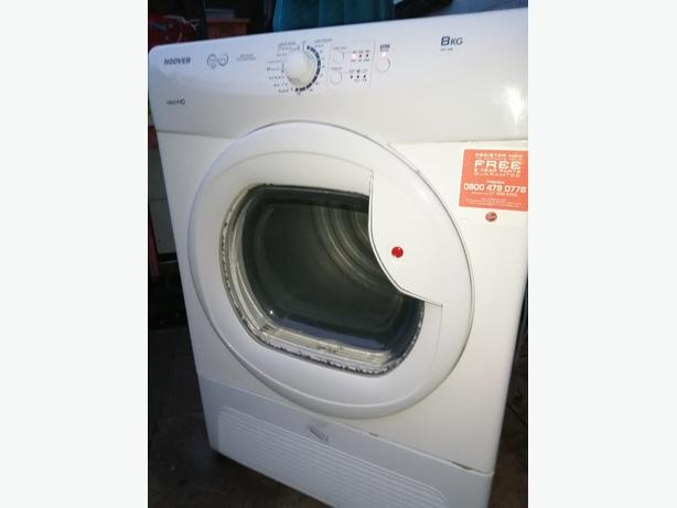 Hoover condenser tumble dryer 8kg gwo
