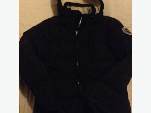 Black Puffa Jacket Size S ~ Soulcal & Co