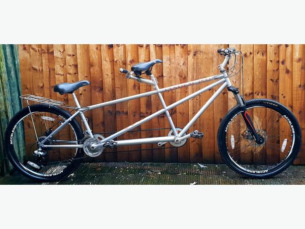 """Tandem custom build bike,27.5""""wheels,dual discbrakes"""