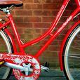 Claud Butler Cambridge  ladies bike with basket.