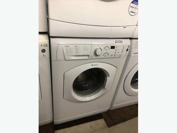 7KG LOAD HOTPOINT WASHING MACHINE / WASHER GUARANTEE WITH
