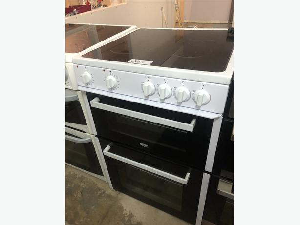 PLANET 🌏 APPLIANCE- BUSH 60CM ELECTRIC COOKER WITH GUARANTEE