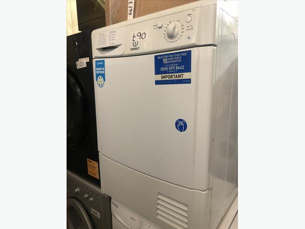 PLANET 🌏 APPLIANCE- - INDESIT CONDENSER TUMBLE DRYER WITH GUARANTEE