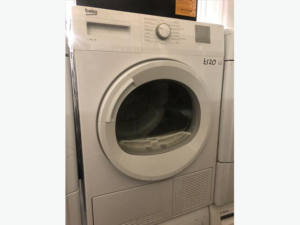EXCELLENT BEKO CONDENSER TUMBLE DRYER 8KG WITH GUARANTEE