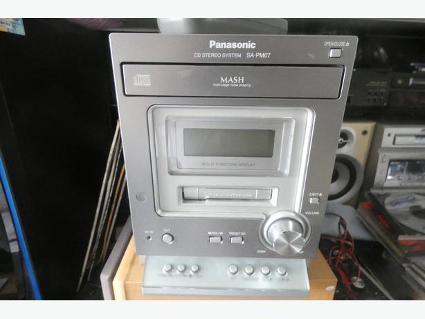 panosonic stereo