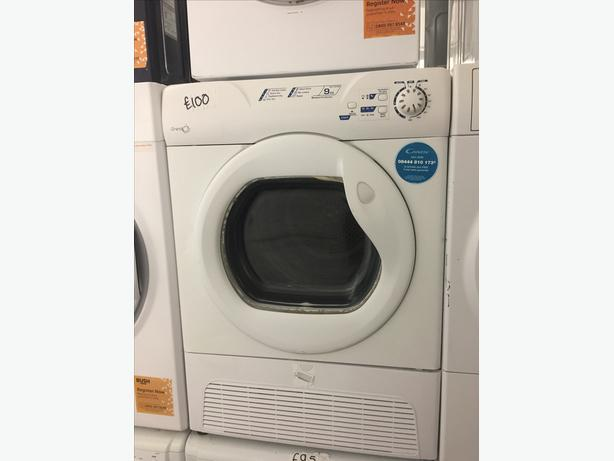 CANDY 9KG LOAD CONDENSER DRYER