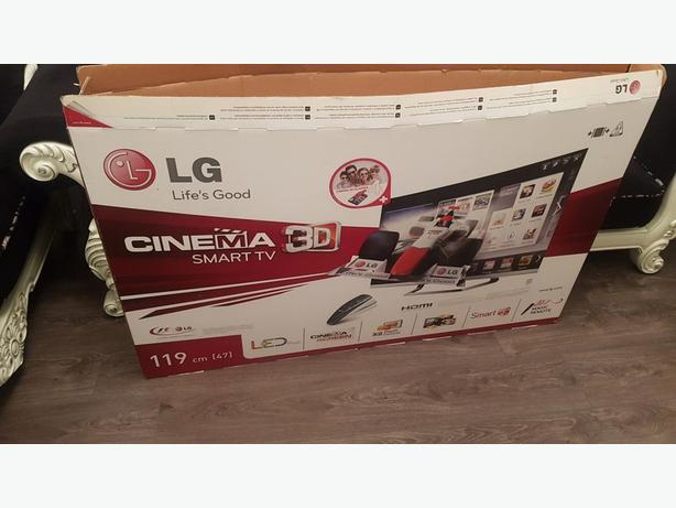 48 inch smart lg 3d full hd 1080p led tv+built in apps+wifi+remote+box+DELIVERY