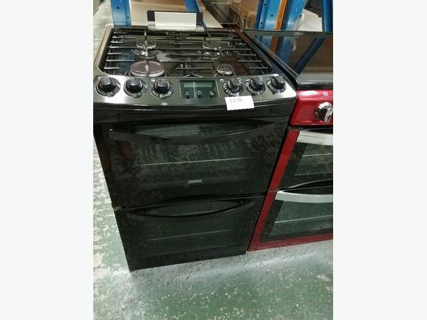 Zanussi 55cm gas cooker at Recyk Appliances