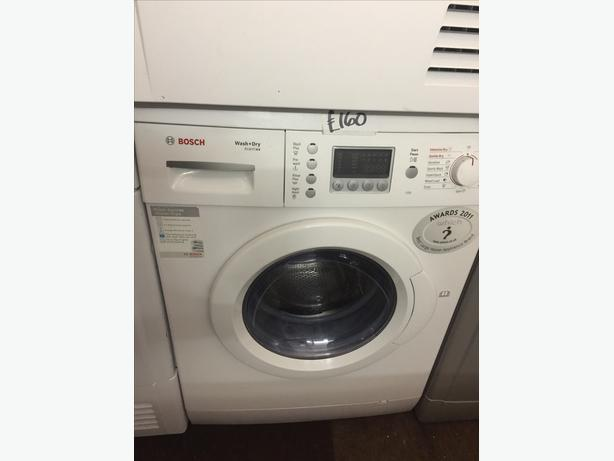 BOSCH 5+2.5KG WASHER DRYER