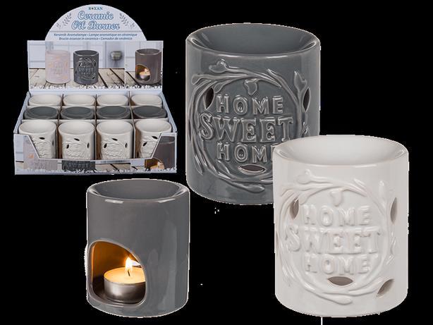 12 x Home Sweet Home Tealight Burners