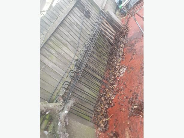 2 meter steel gates very cheap
