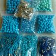 Joblot Of Beads, Charms, Lanyards & Findings