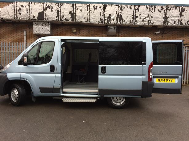 2014 Peugeot Boxer, diesel, manual-Wheelchair Accessible Vehicle WAV