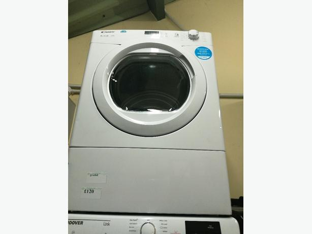 Candy 9 kg vented dryer graded with warranty at Recyk Appliances