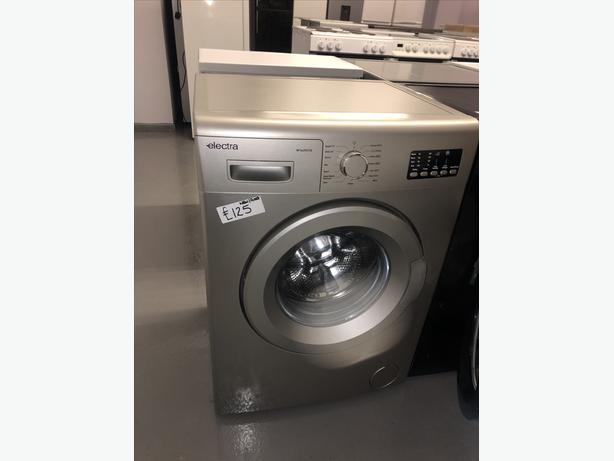 PLANET 🌏 APPLIANCE- NEW GRADED SILVER ELECTRA WASHER /WASHING MACHINE 6KG