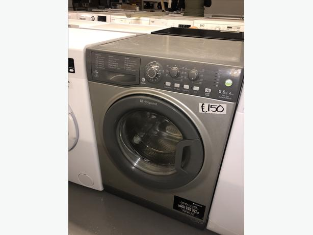 PLANET 🌍 APPLIANCE- 9KG HOTPOINT WASHER DRYER GREAT  CONDITION WITH GUARANTEE
