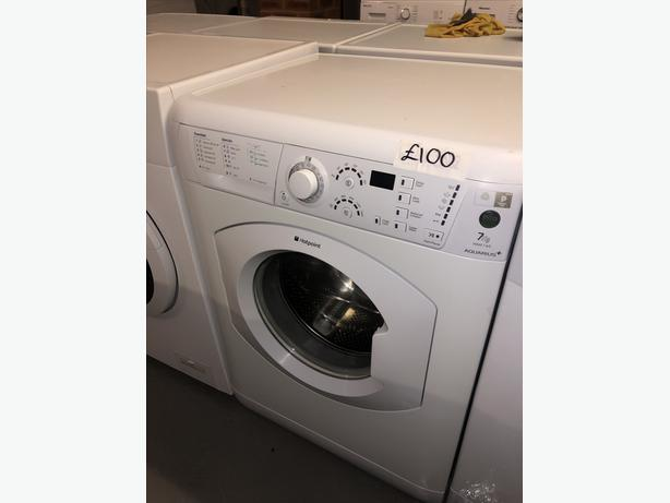 EXCELLENT 7KG HOTPOINT WASHER / WASHING MACHINE WITH GUARANTEE