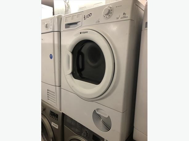 7KG B RATE HOTPOINT CONDENSER TUMBLE DRYER WITH GUARANTEE