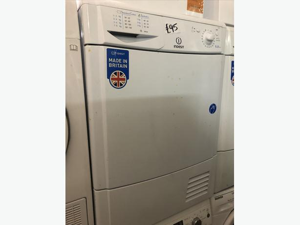 PLANET 🌍 APPLIANCE- 8KG LOAD INDESIT CONDENSER TUMBLE DRYER WITH GUARANTEE