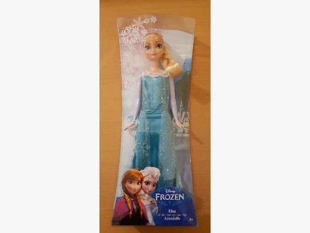 frozen 1 Elsa's doll