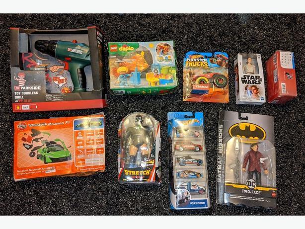 NEW toys £5 each Lego, cars, figures