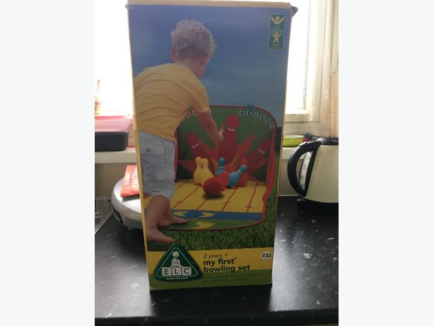 early learning Centre bowling set