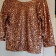 H and M Sequined Top