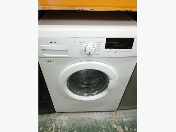 Logik 6 kg washing machine with warranty at Recyk Appliances