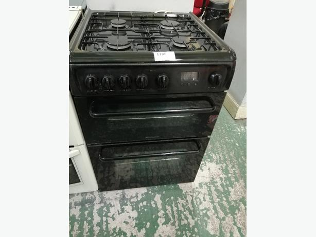 Hotpoint 60 cm gas cooker with warranty at Recyk Appliances
