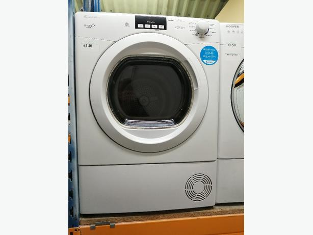 Candy 9 kg condenser dryer with warranty at Recyk Appliances