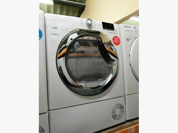 Hoover 9 kg condenser dryer with heat pump at Recyk Appliances