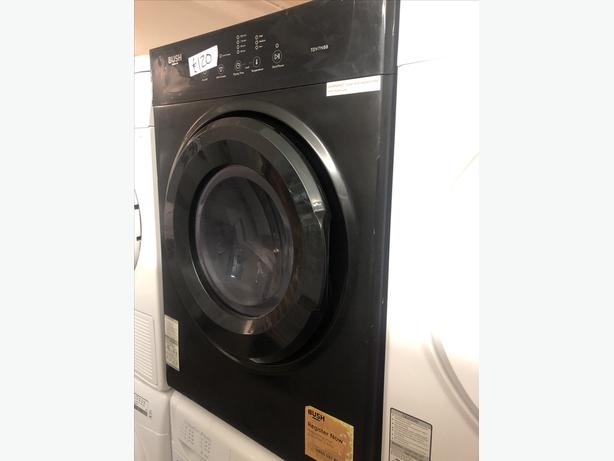 PLANET 🌍 APPLIANCE- 7KG BLACK BUSH VENTED DRYER WITH GUARANTEE