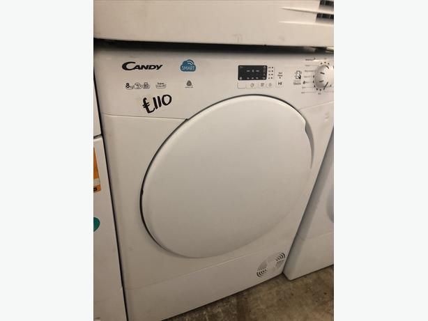 PLANET 🌏 APPLIANCE- 8KG LOAD CANDY CONDENSER TUMBLE DRYER