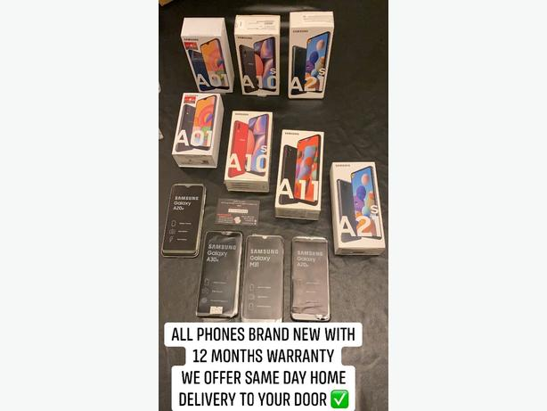 SAMSUNG MOBILE PHONES - WE DELIVER TO YOUR DOOR - BRAND NEW - WE DELIVER