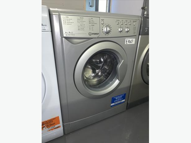 PLANET APPLIANCE - 6+5 INDESIT WASHER DRYER IN SILVER