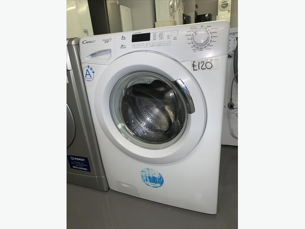 PLANET APPLIANCE - 8KG CANDY WASHER WASHING MACHINE WHITE