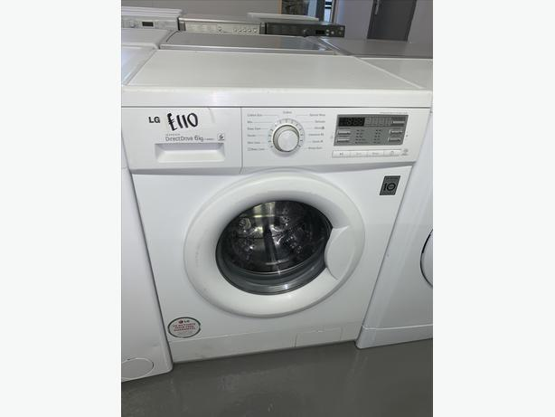 PLANET APPLIANCE - 6KG LG WASHER WASHING MACHINE IN WHITE