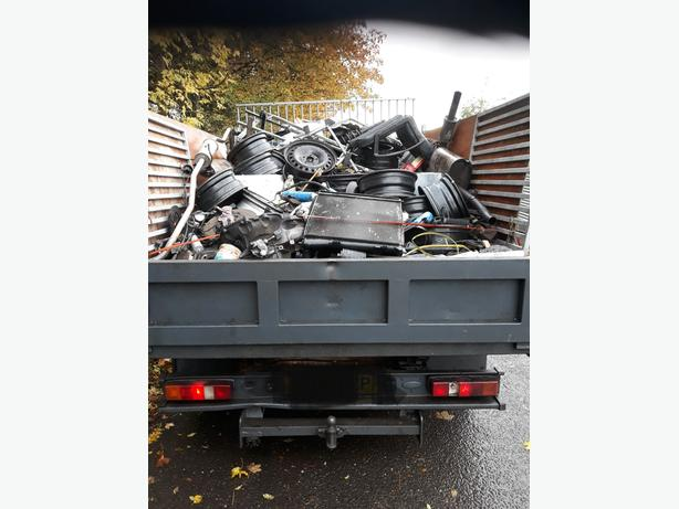 WANTED: ( scrap metal house n garage clearances