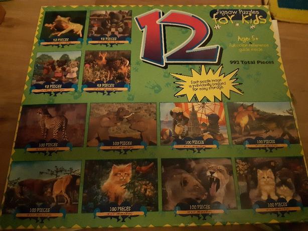 children's jigsaw 5+