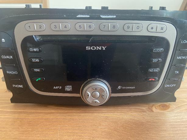 ford sony mp3 6 cd