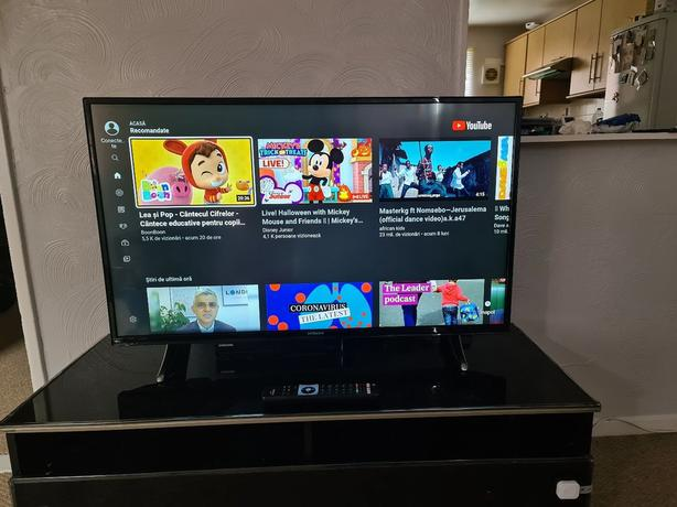 smart 43 inch full hd 1080p led tv+built in apps+wifi+remote+DELIVERY