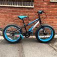 20 inch fat wheel bike