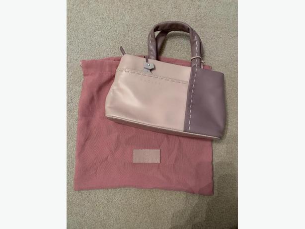 Pink & Lilac Leather Radley Handbag